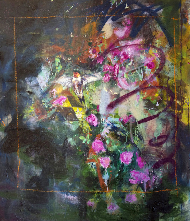 Oil on canvas, 124 x 110cm, 2011
