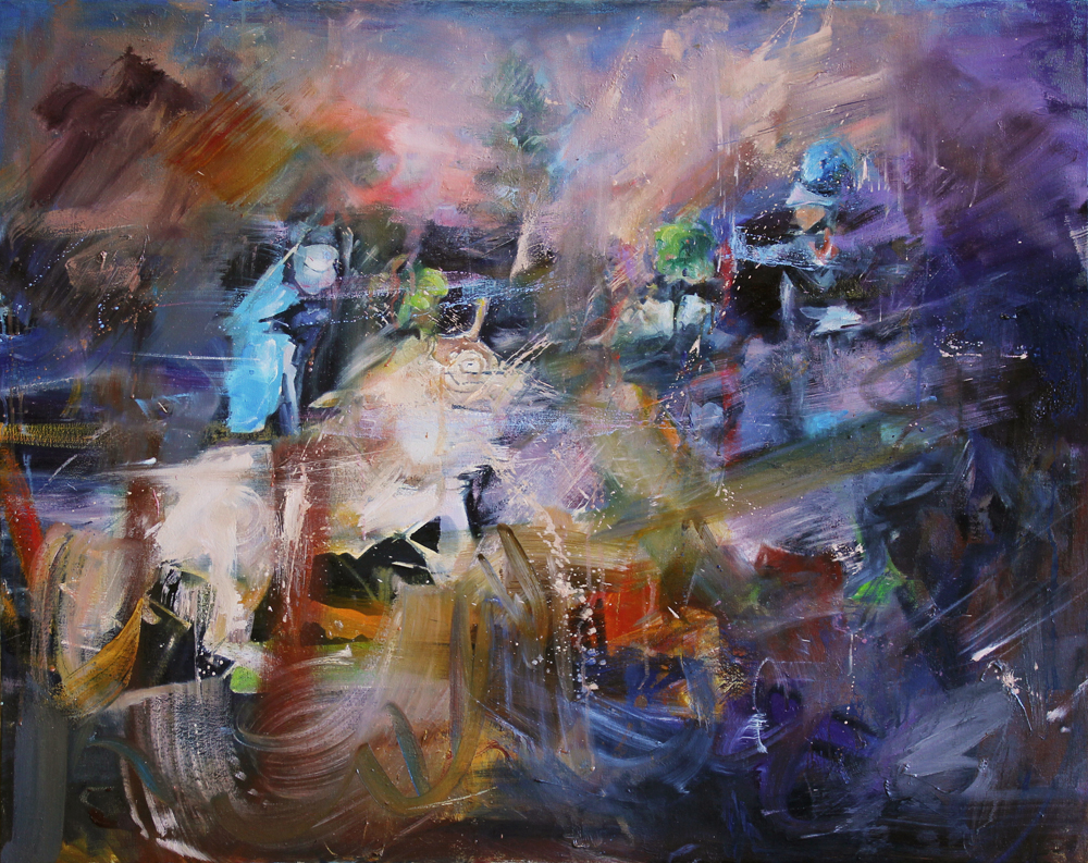 Oil on canvas, 80 x 100cm, 2013