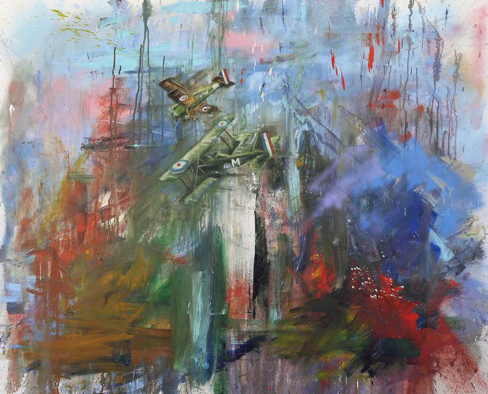 Oil on canvas, 125 x 150cm, 2009