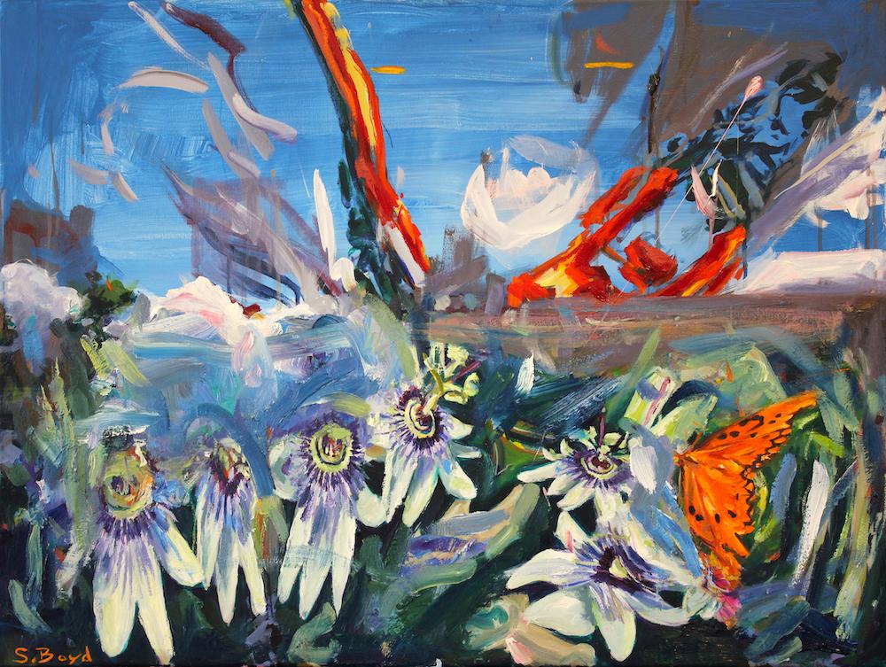 Oil on canvas, 60 x 80cm, 2021