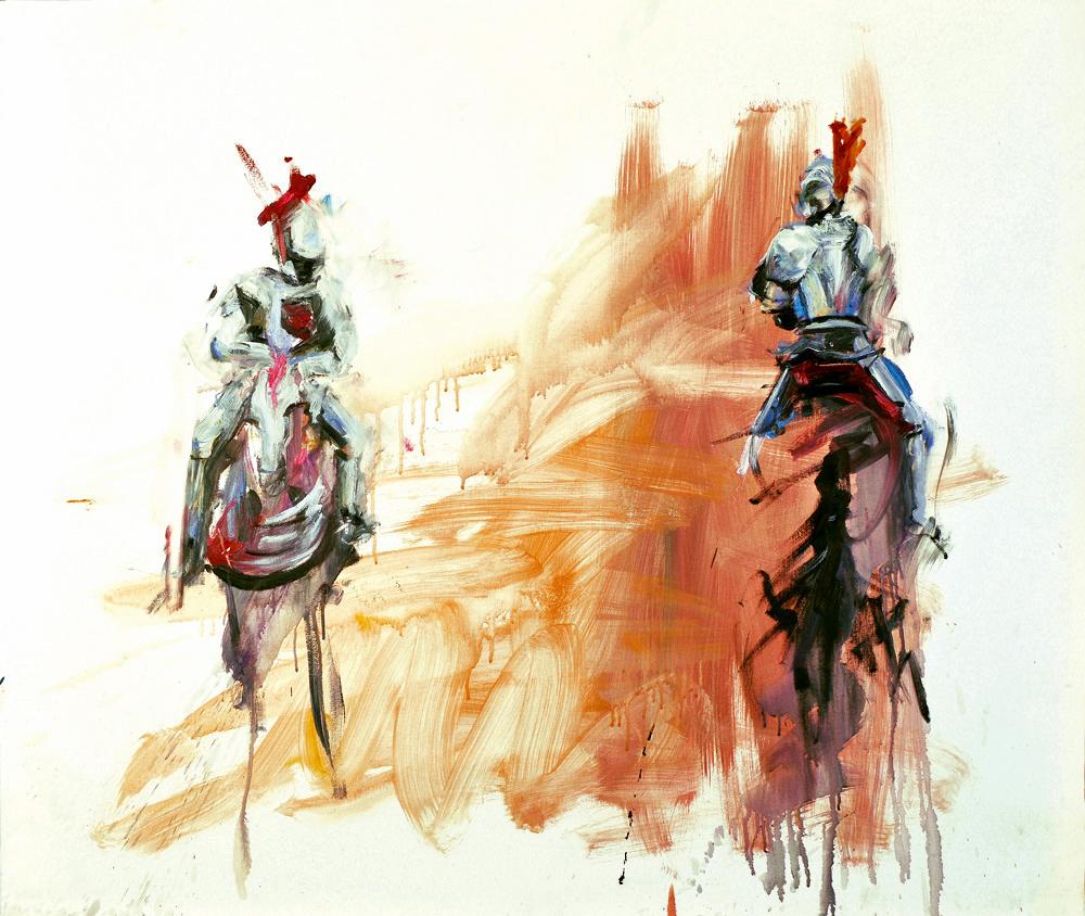 Oil on canvas, 100 x 100cm, 2009